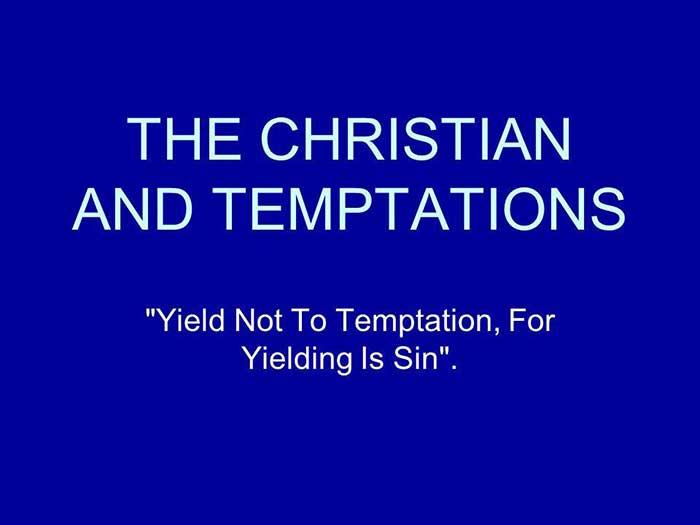 The Koloa Church - The Christian and Temptations - Pastor Harold Kilborn